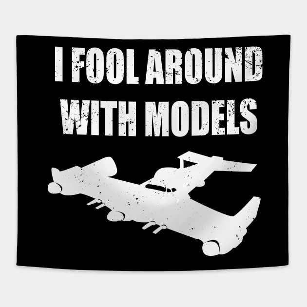 Airplane Model Making Word Game Funny