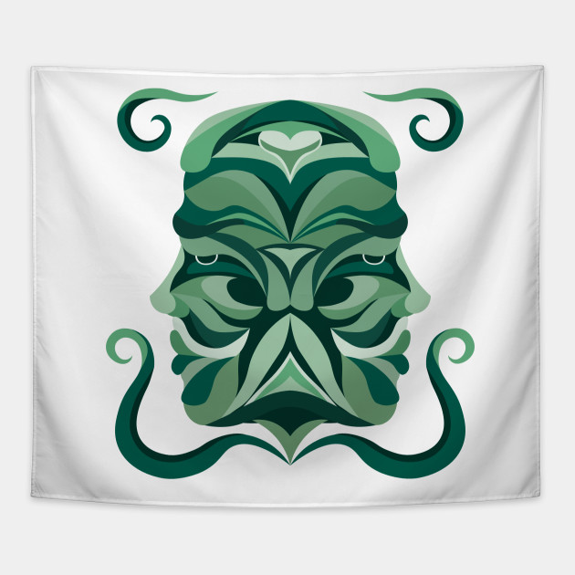 Gemini Zodiac Sign - Green