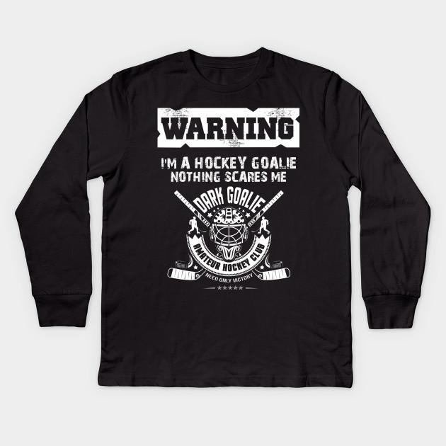 Christmas Warning I M A Hockey Goalie T Shirt