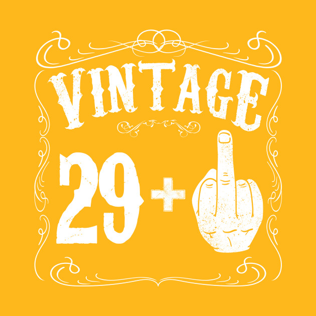 vintage middle finger salute 30th birthday gift funny 30 birthday