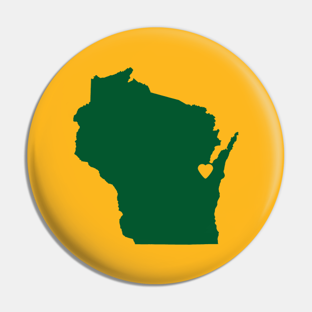 Wisconsin Love in Green and Gold