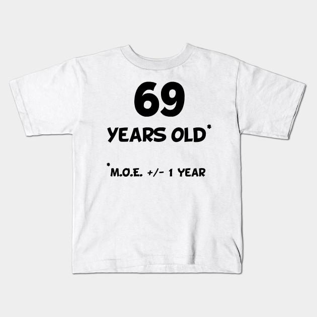69 Years Old Plus Minus 1 Year