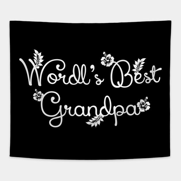 Grandma Grandpa Grandparents Grandfather Grandmother Grandson Granddaughter Gift Idea Tapestry