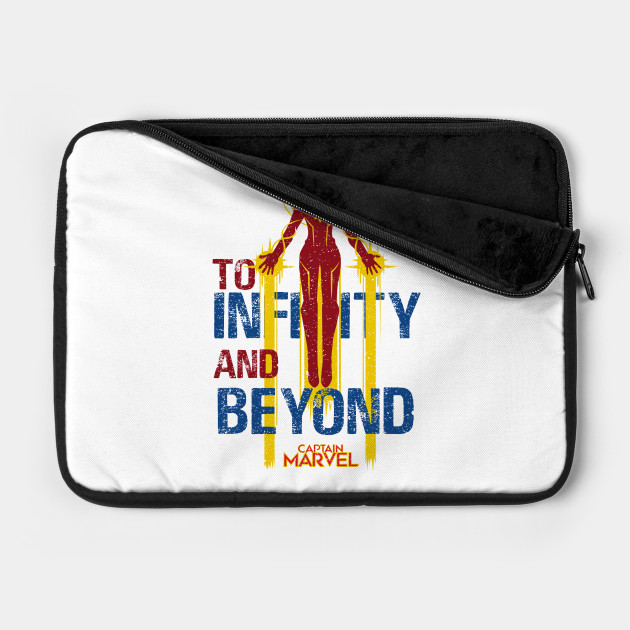 CAPTAIN MARVEL: TO INFINITY AND BEYOND GRUNGE STYLE
