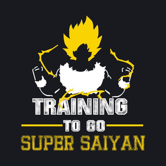 Training To Go Super Saiyan GoKu