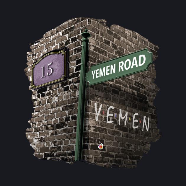 Friends: 15, Yemen Road, Yemen