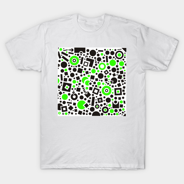 ac331c79a365ed Black versus green - Retro - T-Shirt