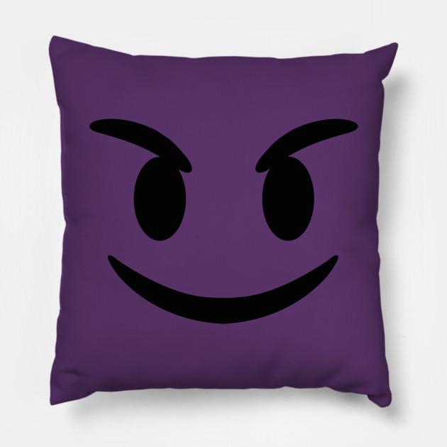 eaac4190 Evil Devil Emoji T-Shirt - Emoji - Pillow | TeePublic