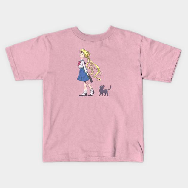 Sailor Moon e Luna Kid/'s T-shirt