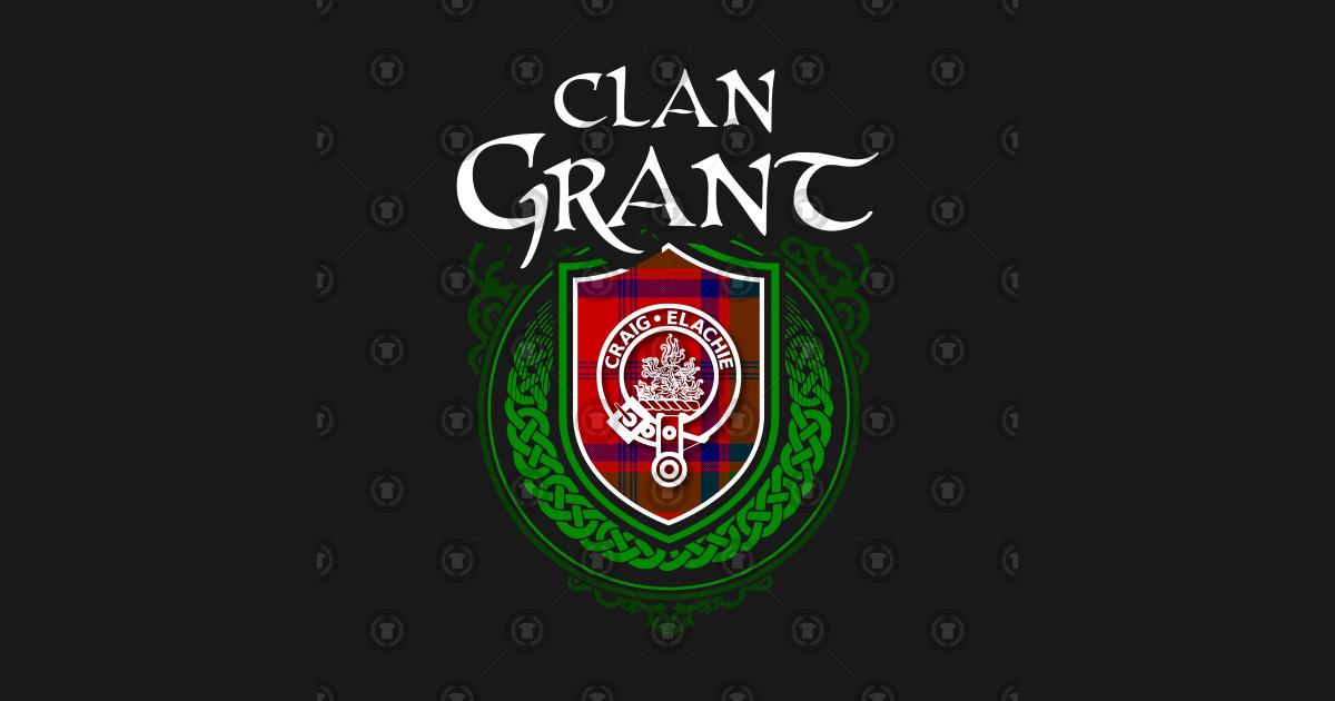 Clan Grant Surname Scottish Clan Tartan Crest Badge by highlandheraldry