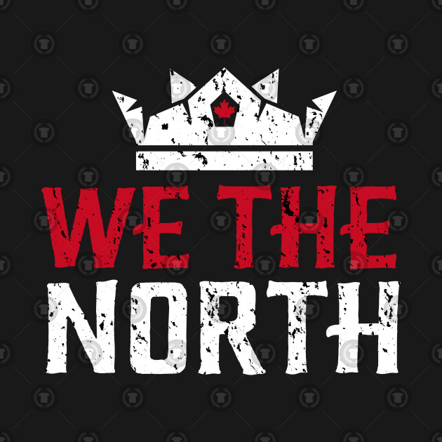 cheap for discount f2d39 09ace Raptors We the North Toronto Basketball