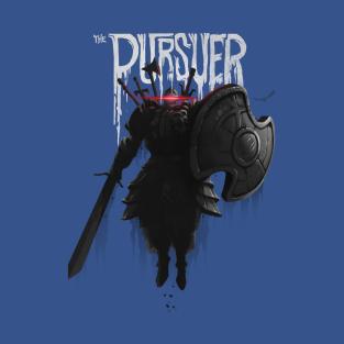 The Pursuer t-shirts