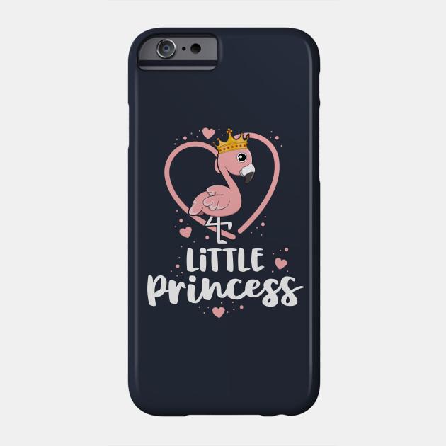 Little Princess Cute Flamingo Queen Heart Pink Bird Lover Phone Case