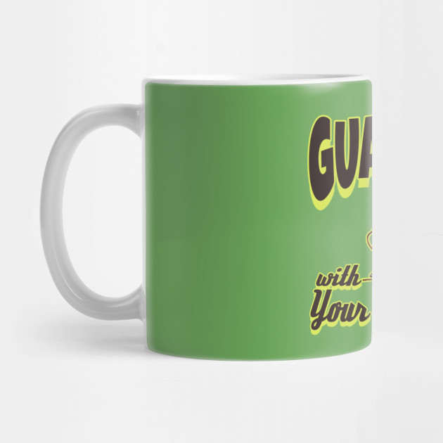Avocado Coffee Mug Rock Out With Your Guac Out Microwave and Dishwasher Safe Ceramic Cup