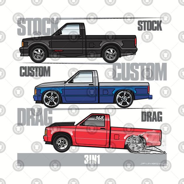 3 in 1 1981-1993 S10 trucks