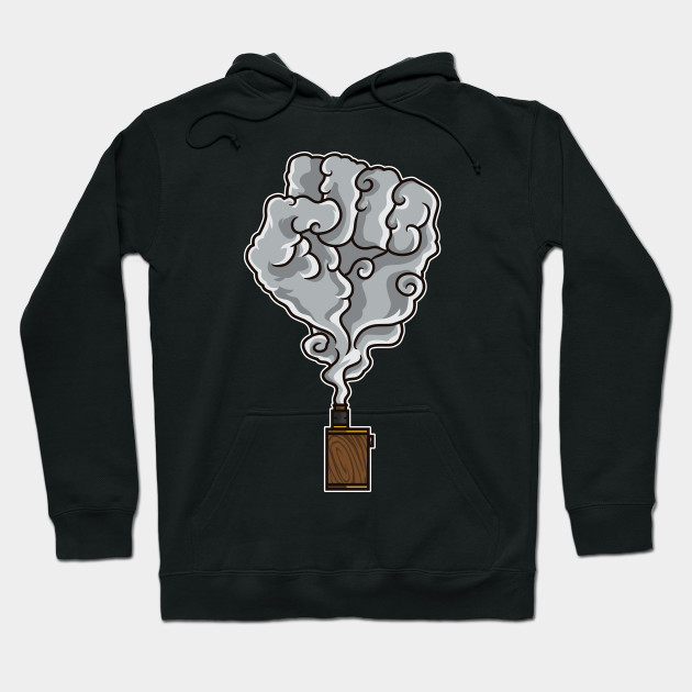 Vaping Fist Illustration | Cloud Chaser Unite Vape Hoodie