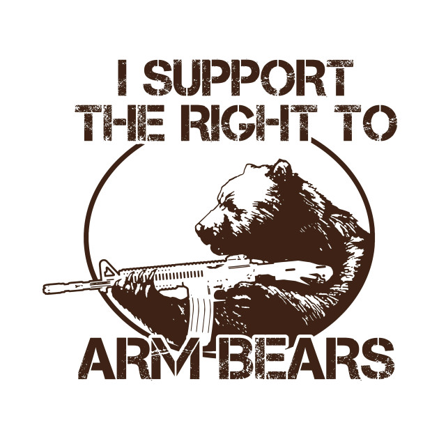 Image result for right to arm bears