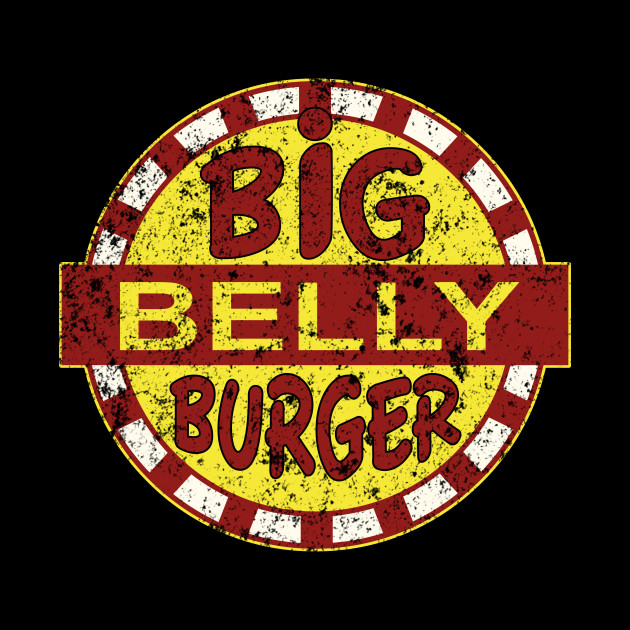 BIG BELLY BURGER (arrow) GRUNGE