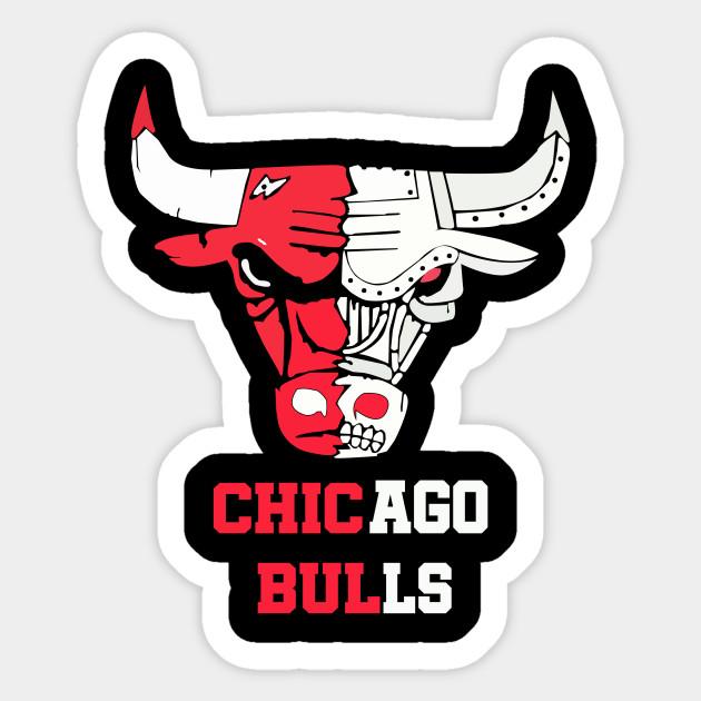 Chicago Bulls Chicago bulls - Chicago Bulls - Sticker | TeePublic