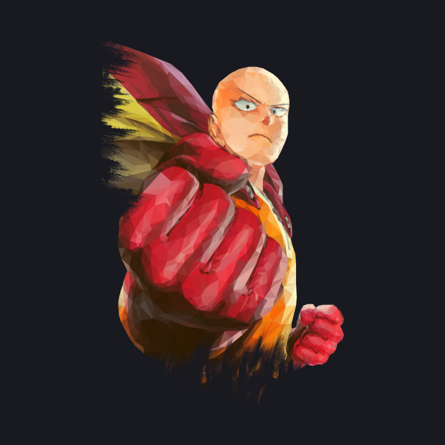 One Punch man, Saitama Low Poly