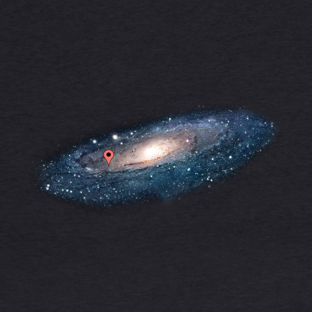 I live here, andromeda galaxy edition.