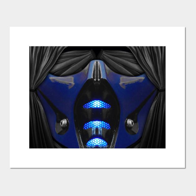 Sub Zero Komplete Face Mask Mortal Kombat Posters And Art