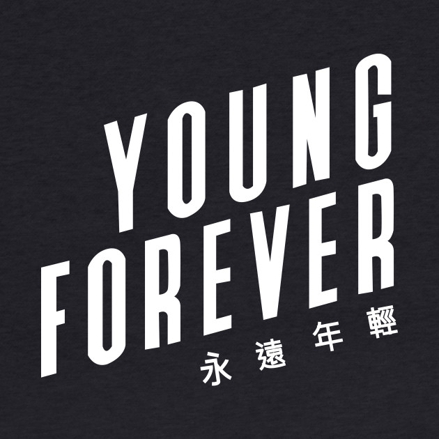 Young forever (BTS) - Black