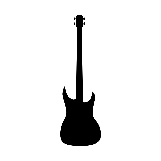 limited edition exclusive bass guitar silhouette bass guitar