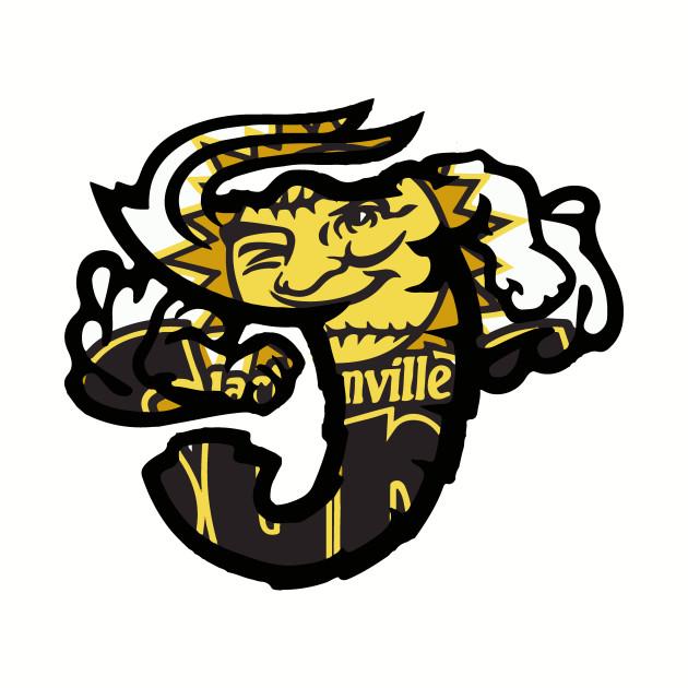 Jacksonville Jumbo Shrimp Suns Logo