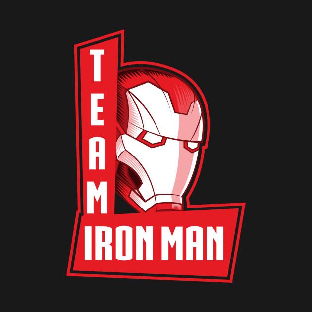 Team Ironman - Marvel - T-Shirt : TeePublic
