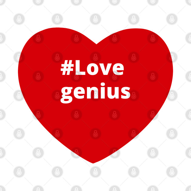 Love Genius - Hashtag Heart