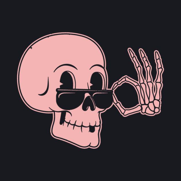 Bespectacled Skull