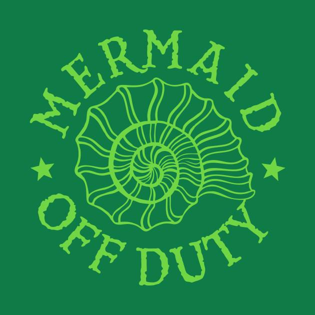Mermaid Off Duty - green