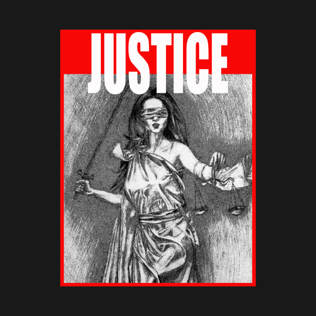 Themis Tee Support Justice T Shirt Trendy Lady Justice Gift