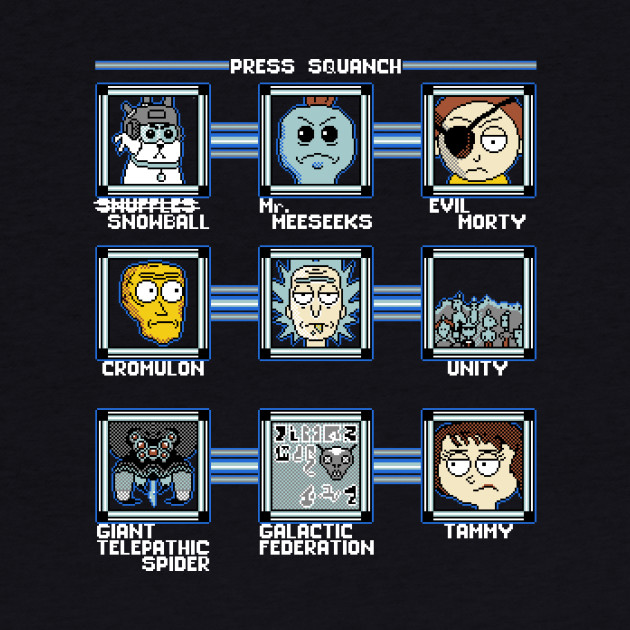 Press Squanch