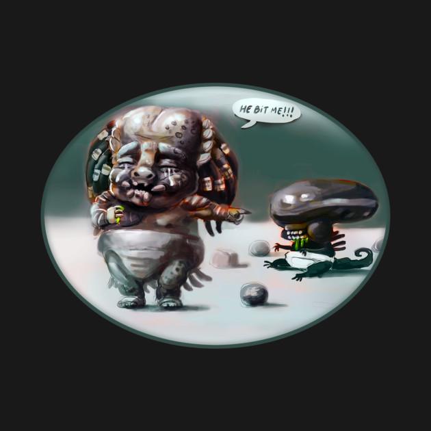 Predator and Alien Babies