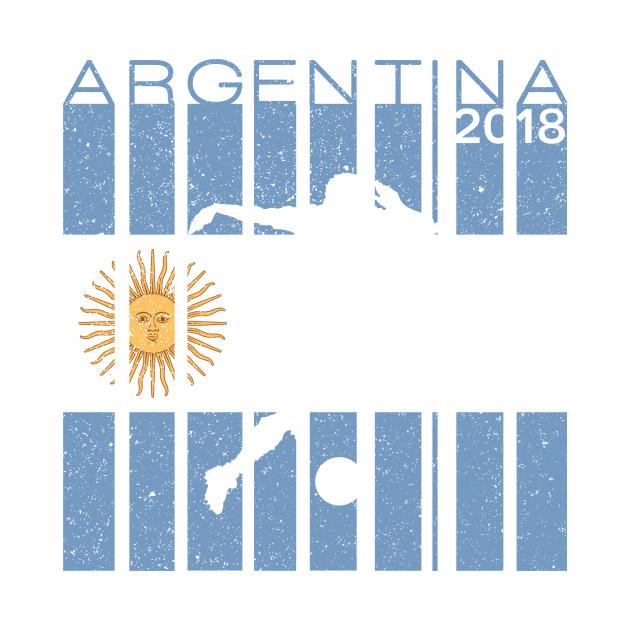 6595ef7a7da ... Kids Long Sleeve T-Shirt. New!Back Print. Argentina Football 2018  Jersey Argentinian Soccer Argentina Football 2018 Jersey Argentinian Soccer
