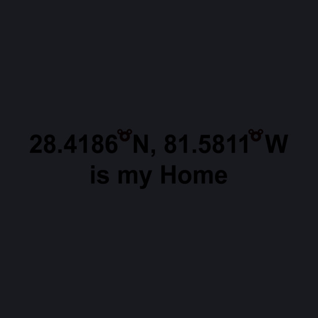 WDW is my home - Black