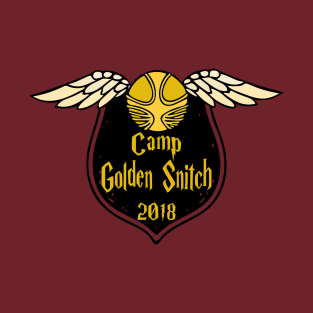 Camp Golden Snitch 2018 t-shirts