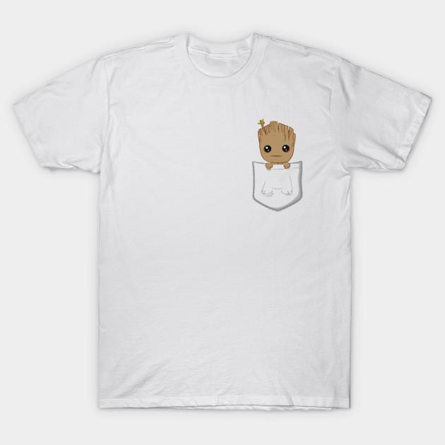 Pocket Groot Groot T Shirt Teepublic