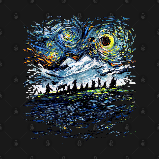 van Gogh Never Saw the Fellowship (version 2)