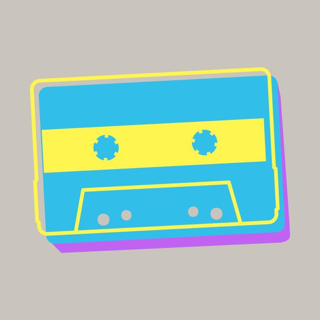 8f8ff5f66 Retro 90s EDM Cassette Tape - Cassette - T-Shirt