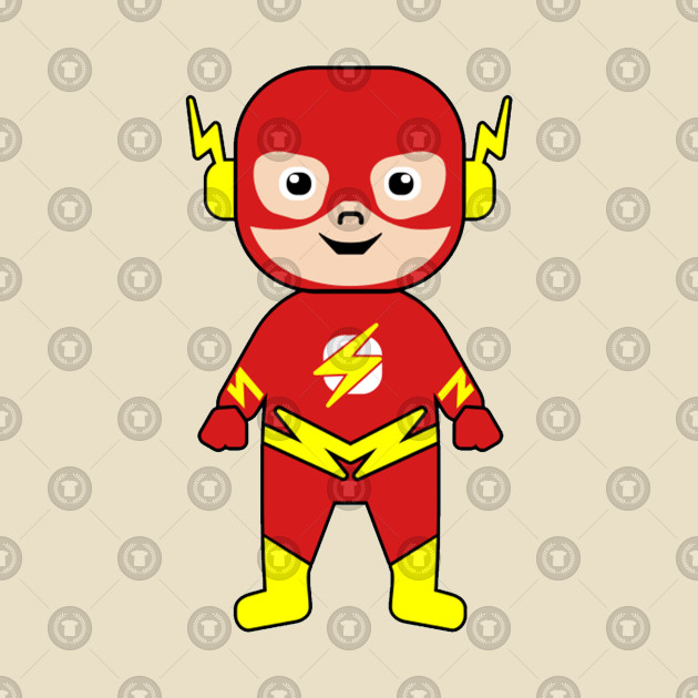 Baby Flash Hero - Flash Superhero - T-Shirt | TeePublic