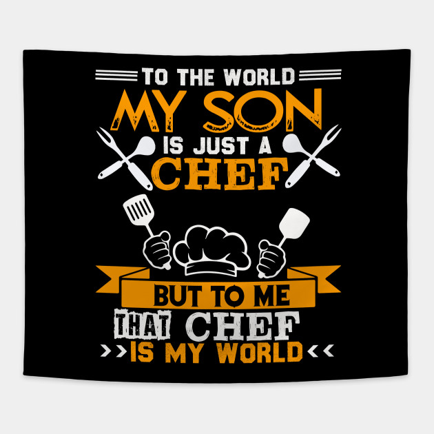 My Son Is A Chef T shirt For Mom And Dad, For Men Women
