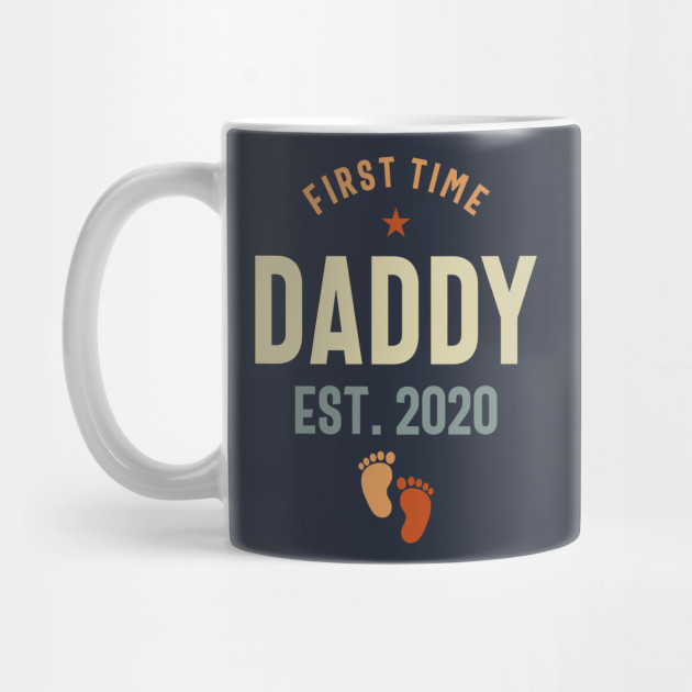 First Time Daddy Est 2020 Father's Day Mug