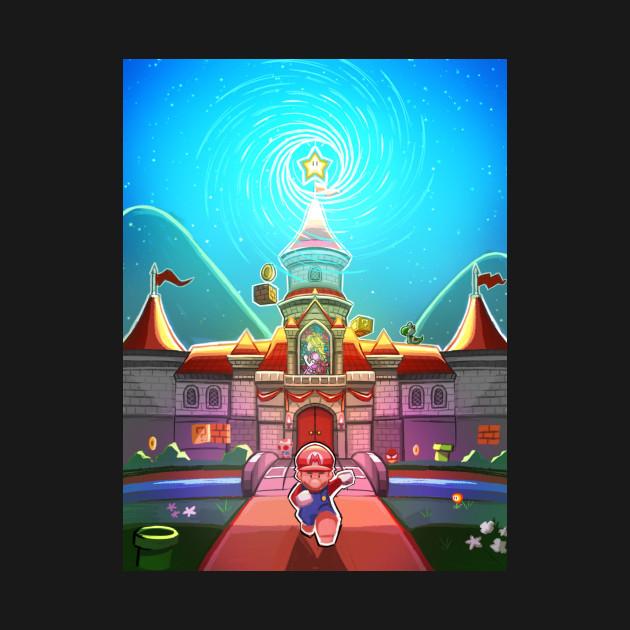 Super Mario Peach's Castle