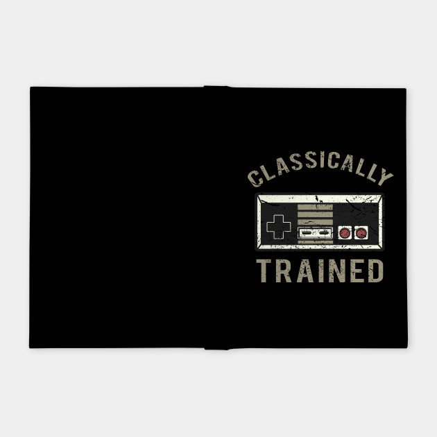 Classically Trained Funny Video Gamer Shirt