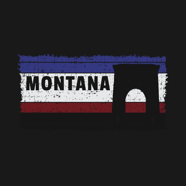 Montana USA The Treasure State Helena