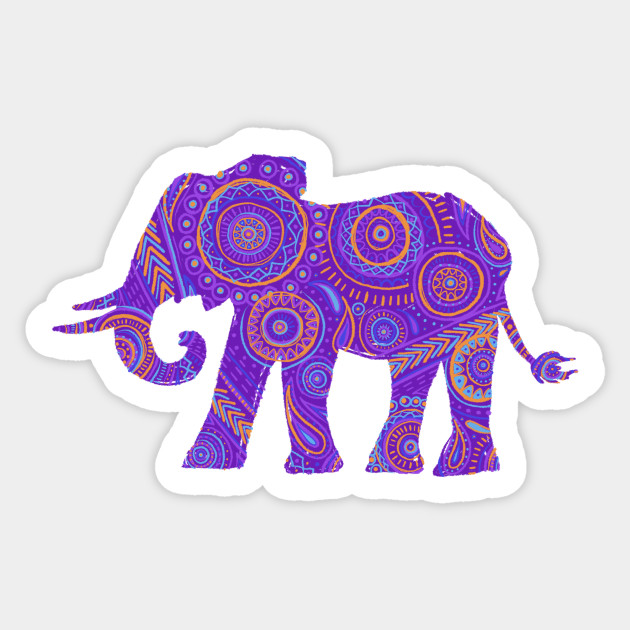 Mandala Elephant Cut File Svg Dxf Eps Png By Sparkal Designs