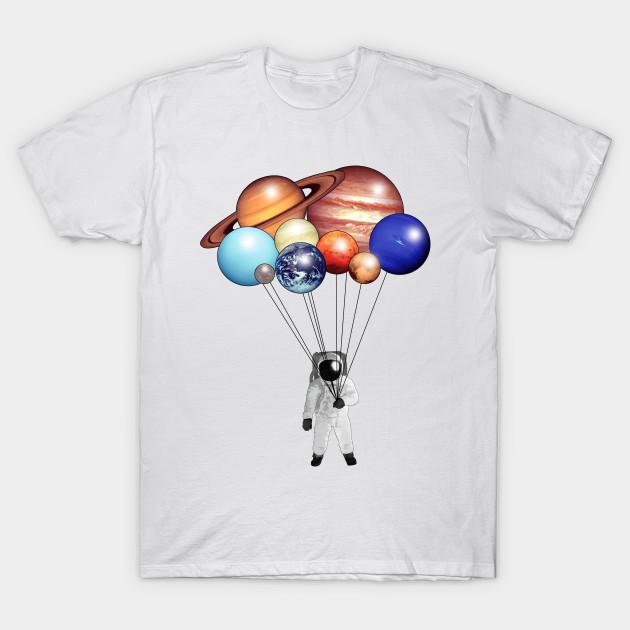 8e83d3455 Planet Balloons - Space - T-Shirt | TeePublic